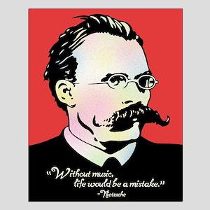 Nietzsche Music Small Poster