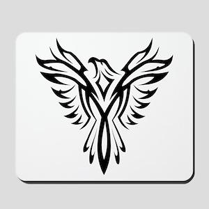 Tribal Phoenix Tattoo Bird Mousepad