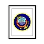 USS Caloosahatchee (AO 98) Framed Panel Print