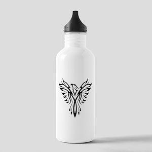 Tribal Phoenix Tattoo Stainless Water Bottle 1.0L