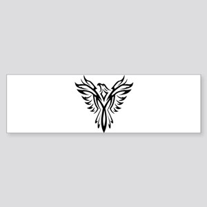 Tribal Phoenix Tattoo Bird Bumper Sticker