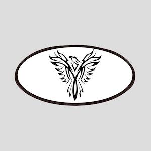 Tribal Phoenix Tattoo Bird Patch