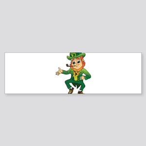 Leprechaun Bumper Sticker