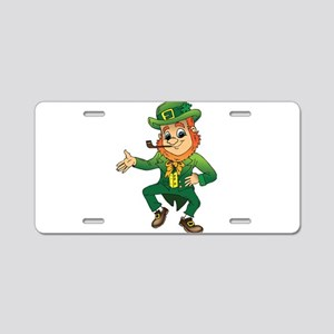 Leprechaun Aluminum License Plate