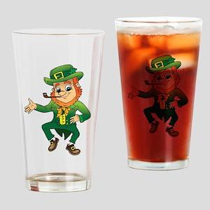 Leprechaun Drinking Glass