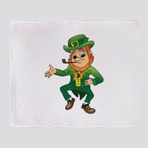 Leprechaun Throw Blanket