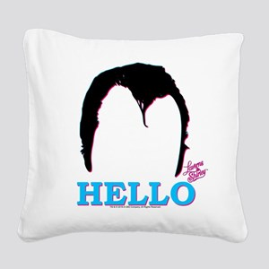 Laverne and Shirley: Squiggy Square Canvas Pillow