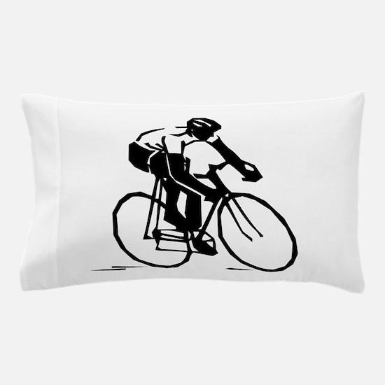 Cyclist Pillow Case