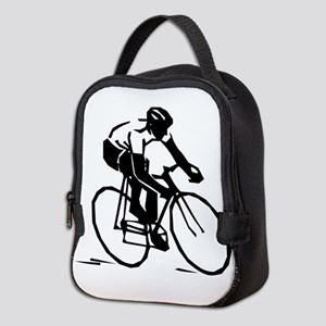 Cyclist Neoprene Lunch Bag
