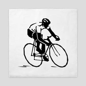 Cyclist Queen Duvet