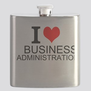 I Love Business Administration Flask