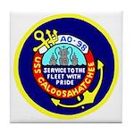 USS Caloosahatchee (AO 98) Tile Coaster