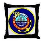 USS Caloosahatchee (AO 98) Throw Pillow
