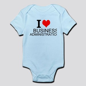I Love Business Administration Body Suit