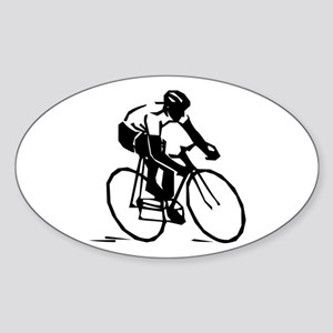 Cyclist Sticker