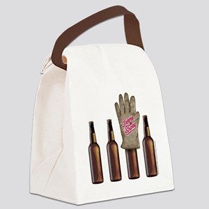 Laverne and Shirley: Shotz Beer D Canvas Lunch Bag