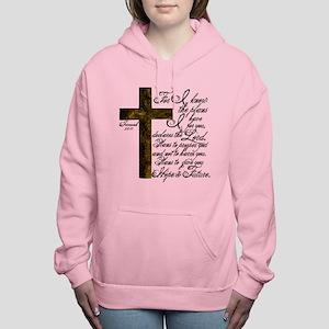 Plan of God Jeremiah 29: Women's Hooded Sweatshirt