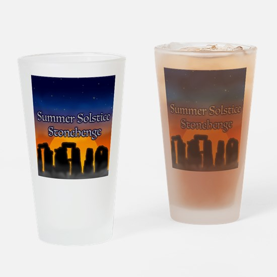 Cute Summer solstice Drinking Glass