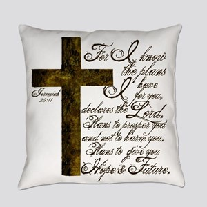 Plan of God Jeremiah 29:11 Everyday Pillow