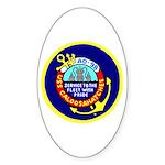 USS Caloosahatchee (AO 98) Oval Sticker