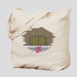 Laverne and Shirley: Apartment Window Tote Bag