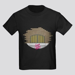 Laverne and Shirley: Apartment W Kids Dark T-Shirt
