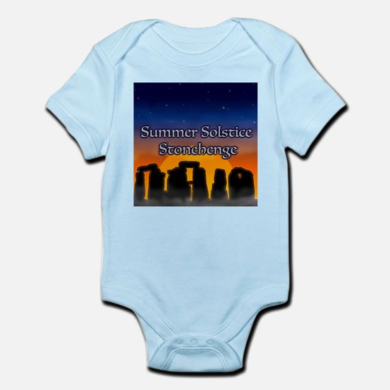 Summer Solstice Stonehenge Body Suit