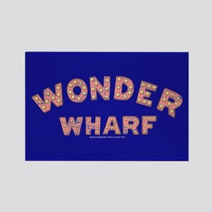Bob's Burgers Wonder Wharf Rectangle Magnet