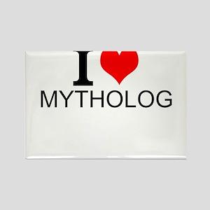 I Love Mythology Magnets