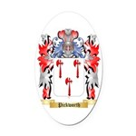 Pickworth Oval Car Magnet