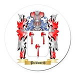 Pickworth Round Car Magnet