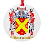 Pick Round Ornament