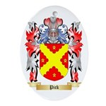 Pick Oval Ornament