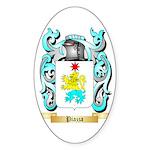 Piazza Sticker (Oval 50 pk)