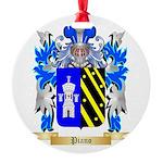 Piano Round Ornament