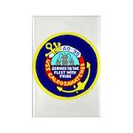 USS Caloosahatchee (AO 98) Rectangle Magnet (100 p