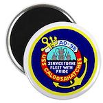USS Caloosahatchee (AO 98) Magnet
