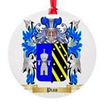 Pian Round Ornament