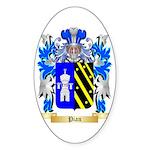 Pian Sticker (Oval 50 pk)