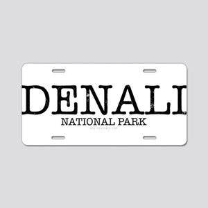 Denali National Park DNP Aluminum License Plate
