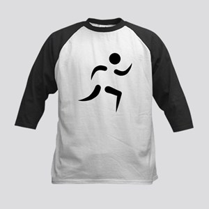 Running icon Kids Baseball Jersey