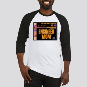 Engineer Mom Baseball Jersey