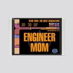 Engineer Mom Rectangle Magnet