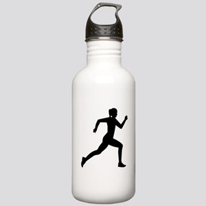 Running woman girl Stainless Water Bottle 1.0L