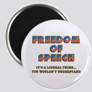 Freedom of Speech -- Liberal Magnet