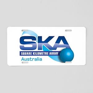 SKA Australia Program Aluminum License Plate