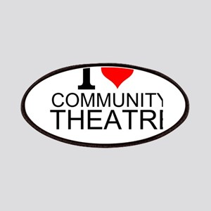 I Love Community Theatre Patch
