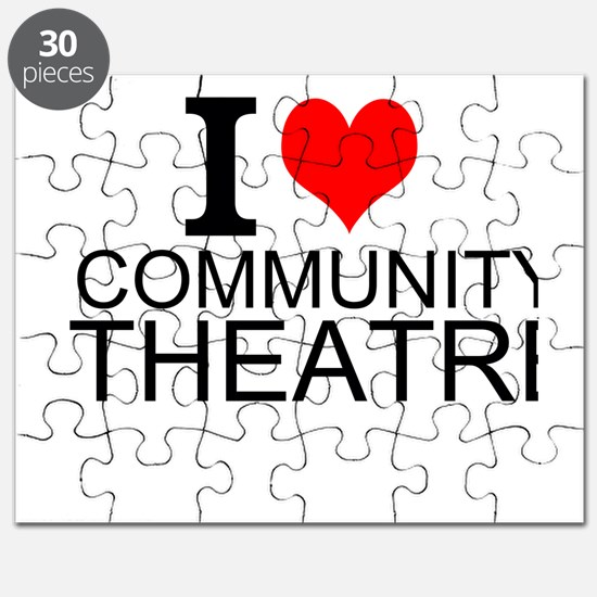 I Love Community Theatre Puzzle