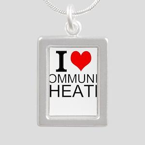 I Love Community Theatre Necklaces