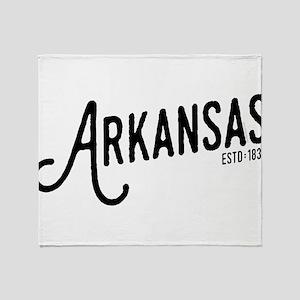 Arkansas Throw Blanket